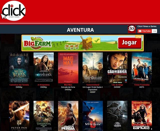 Click – Filmes e Séries - Imagem 1 do software