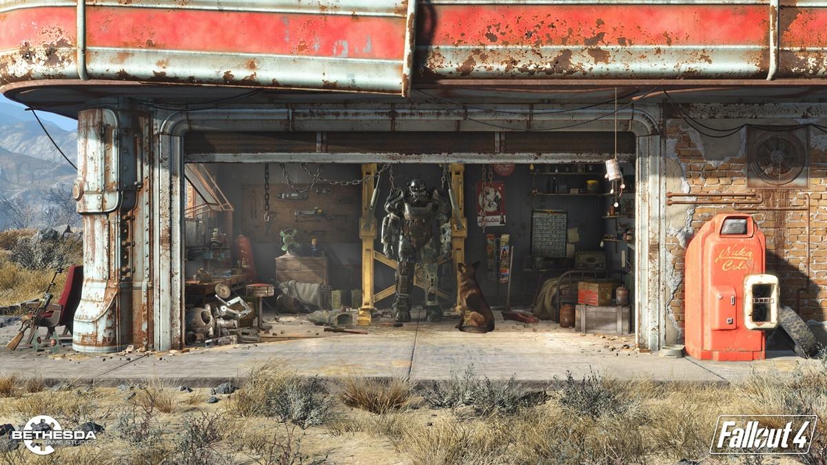 É hora de babar no tamanho estimado do gigantesco mapa de Fallout 4; veja ZGB Start