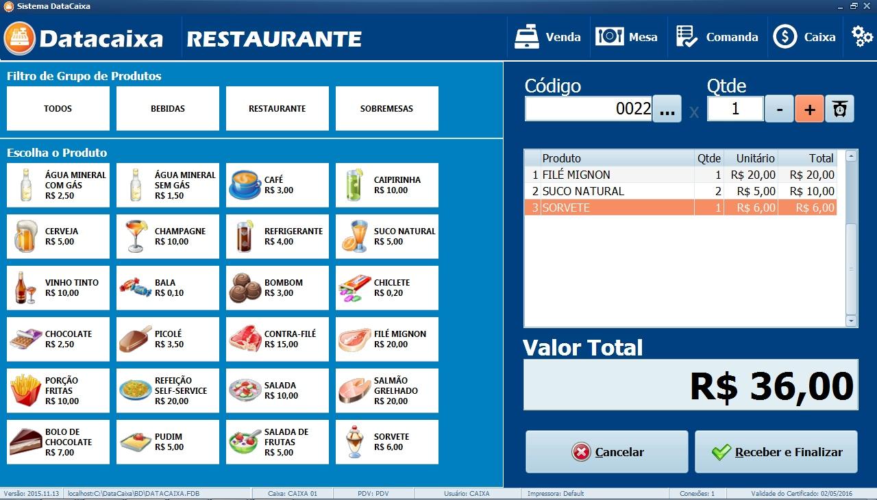 Datacaixa - Imagem 1 do software