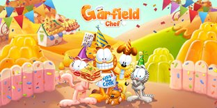Garfield Chef: Match 3 Puzzle