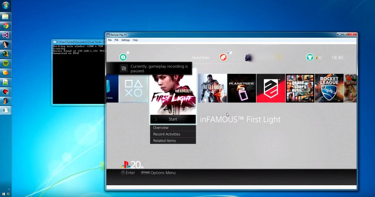 App não oficial traz o recurso Remote Play para o PC