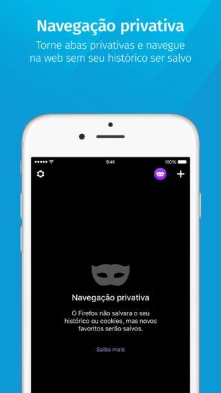 Navegador web Firefox - Imagem 2 do software