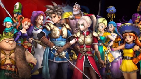 Imagem de Dragon Quest Heroes: The World Tree's Woe and the Blight Below no baixakijogos