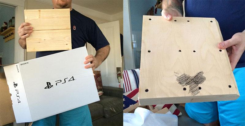 Garoto pede PS4 de Natal, mas ganha um bloco de madeira... Com surpresa