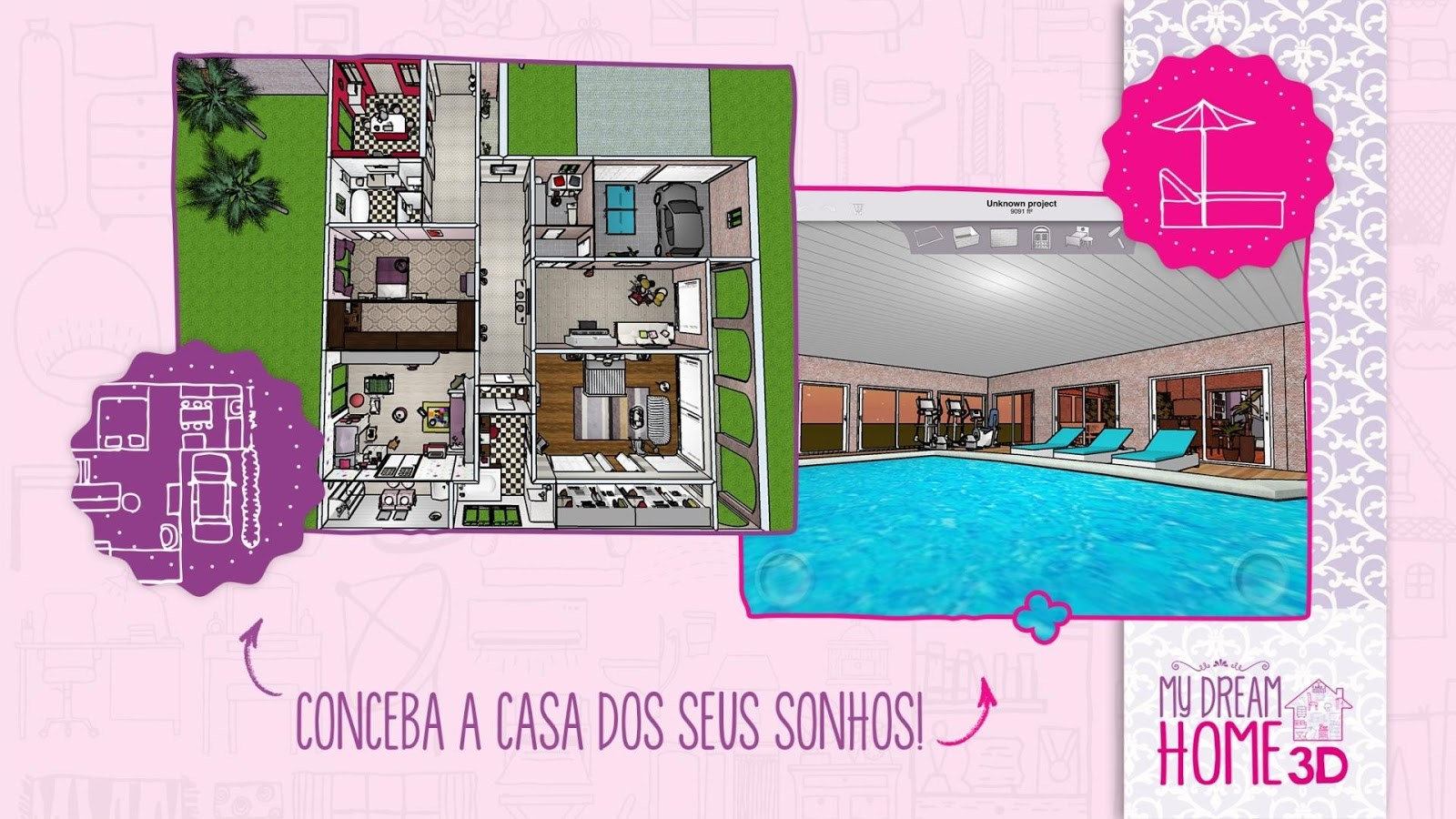 My dream home 3d download for Dream house plans 3d