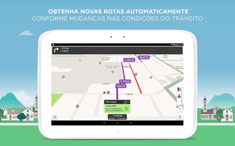 waze social gps maps traffic download. Black Bedroom Furniture Sets. Home Design Ideas