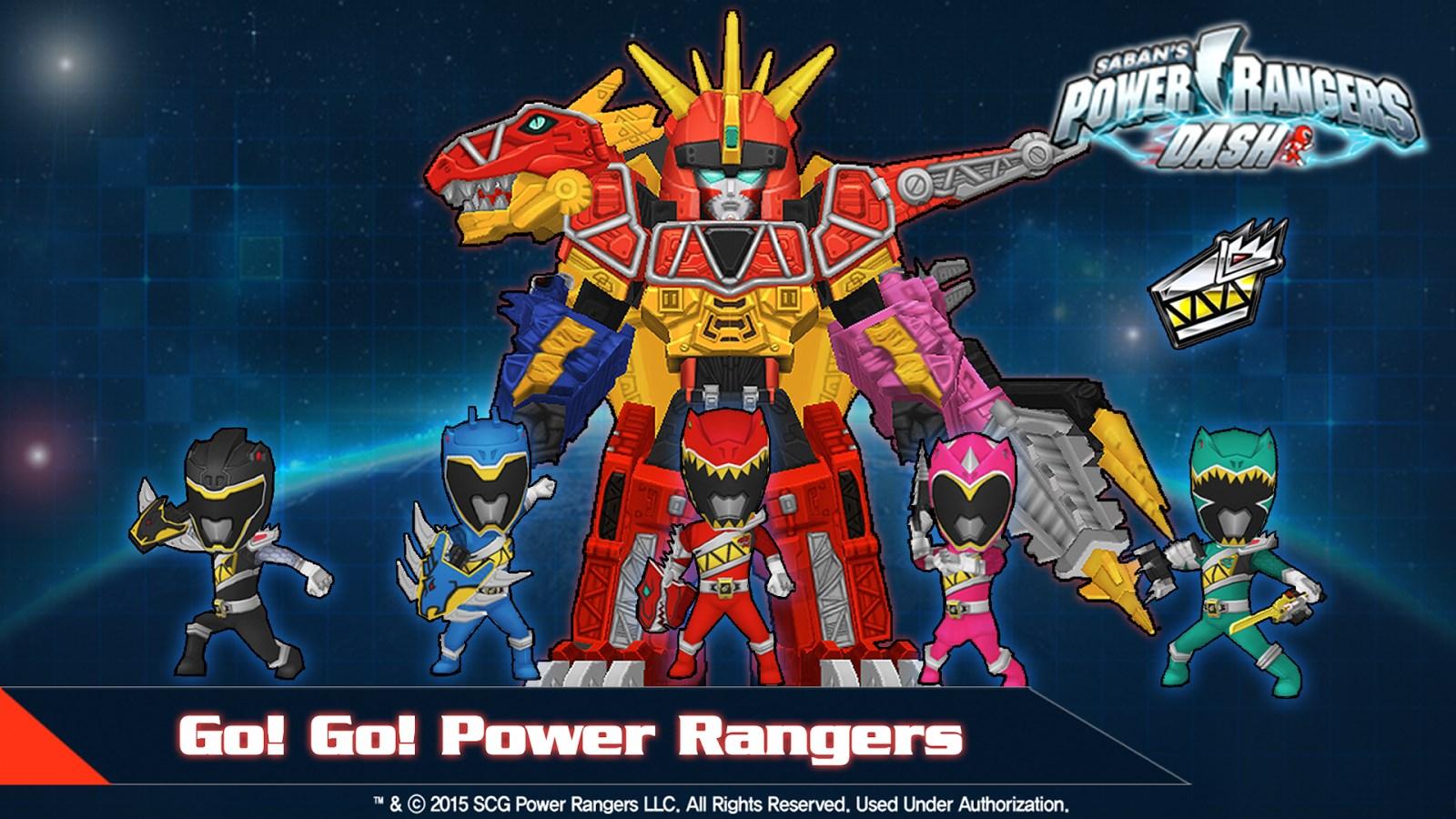 Power Rangers Dash - Imagem 1 do software