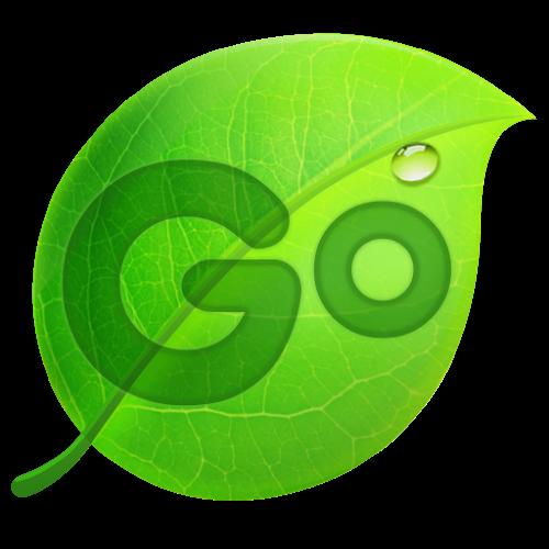 Logo GO Keyboard - Emoji, Emoticons ícone