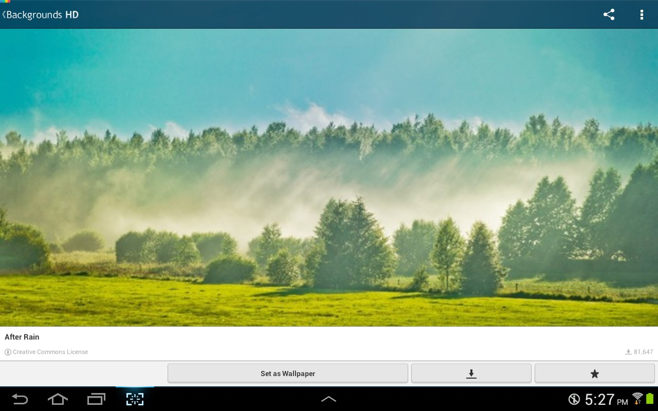Papéis de parede HD - Imagem 1 do software