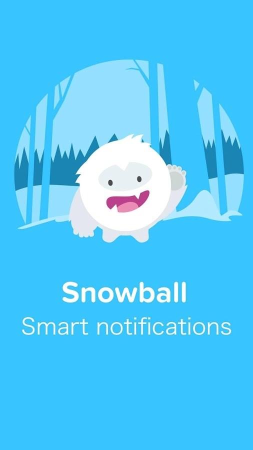 Snowball - Smart Notifications - Imagem 1 do software
