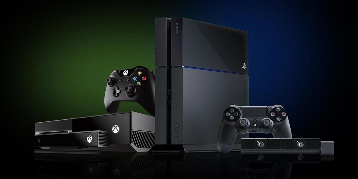 Juntos, PS4 e Xbox One venderam 55 milhões de unidades em dois anos de vida