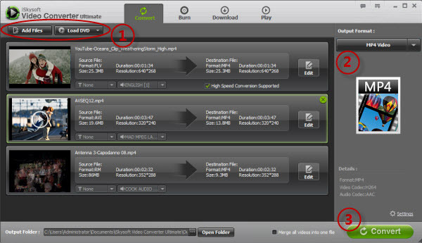 how to download converted video