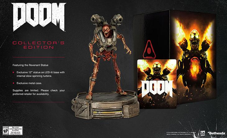 Agora vai! Doom terá edição de colecionador e chegará em 13 de maio