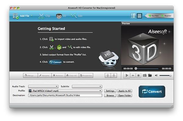 Aiseesoft hd converter for mac para mac download aiseesoft hd converter for mac imagem 1 do software ccuart Choice Image