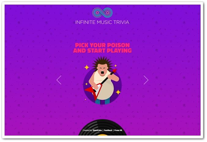 Se acha bom em identificar os nomes das musicas? Tente jogar Infinite Music Trivia e mude seu conceito 05195612563029