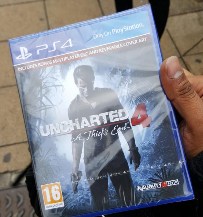 Antes da hora: Uncharted 4 já está à venda nos Estados Unidos e na Europa