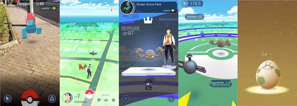 Vídeo vazado mostra como está o Beta do aguardado Pokémon Go