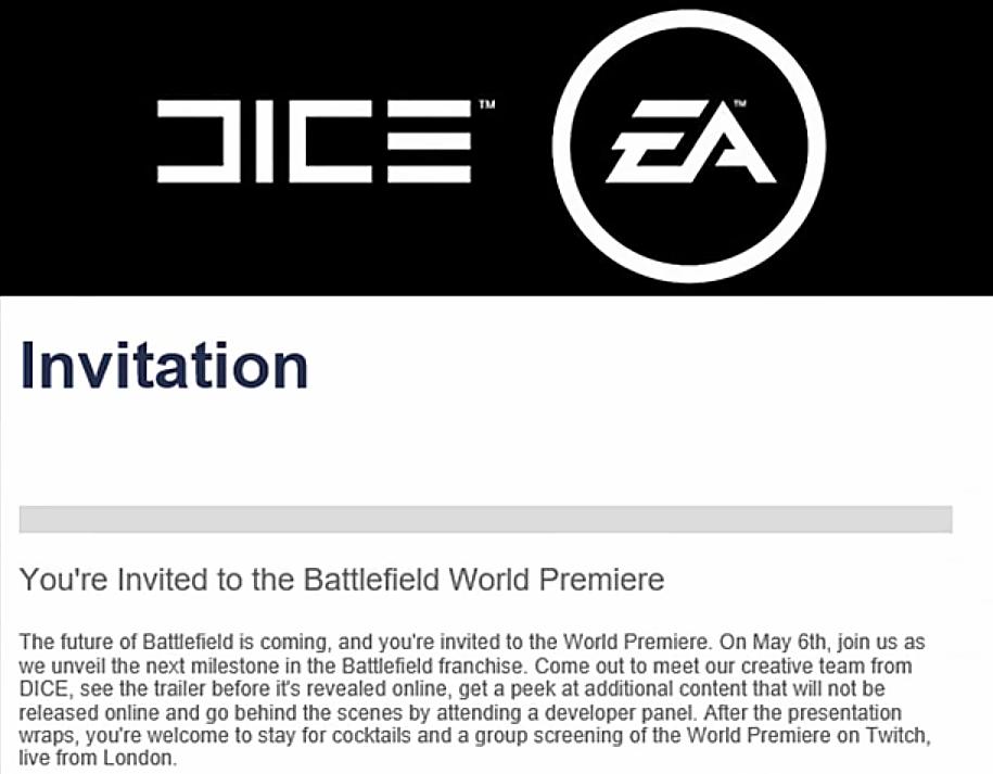 Anote na agenda: anúncio oficial de Battlefield 5 acontece dia 6 de maio