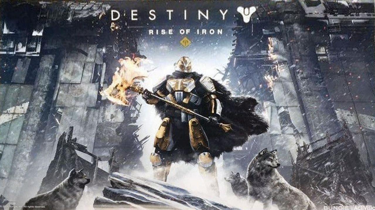 Nova expansão de Destiny vai se chamar Rise of Iron [veja o pôster]