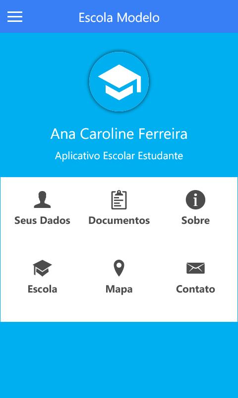 Aplicativo Escolar - Imagem 2 do software