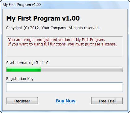 License Shield SDK - Imagem 1 do software