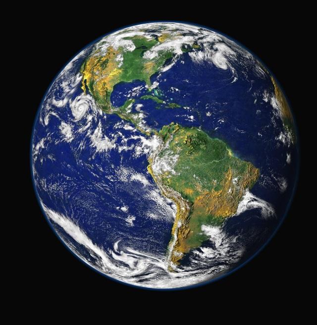 Planeta — quase todo — azul