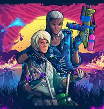 Imagem de Trials of the Blood Dragon no TecMundo Games