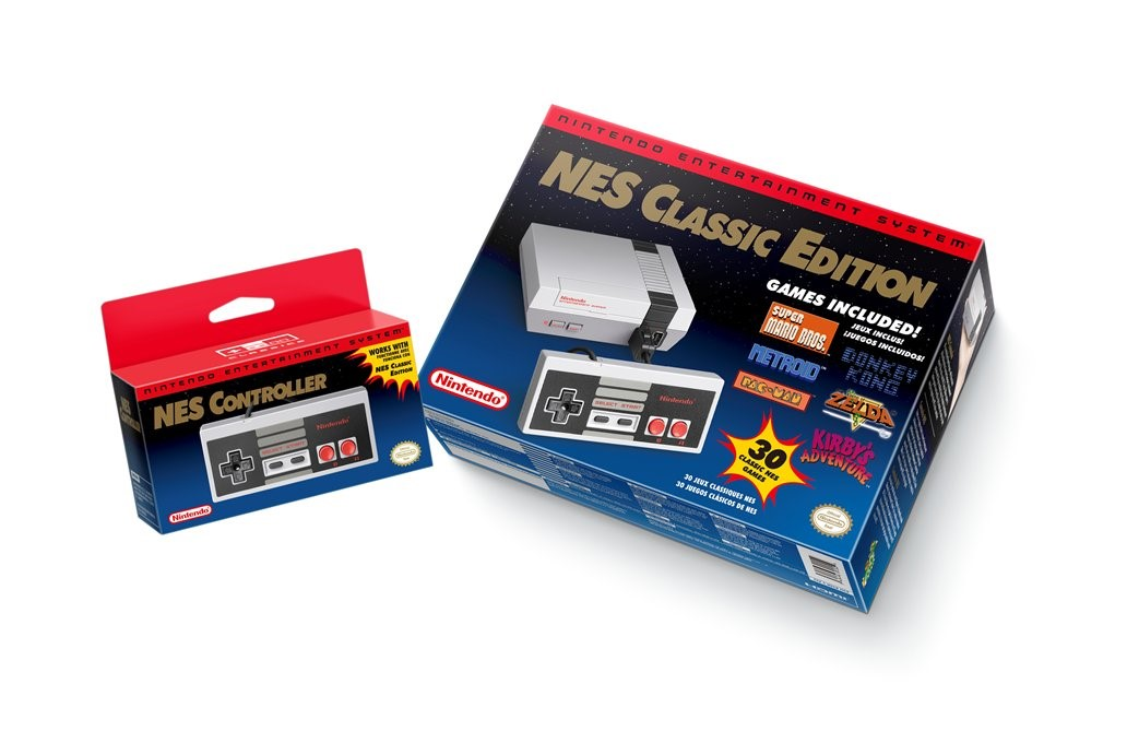 Nintendo anuncia relançamento do NES com 30 jogos clássicos