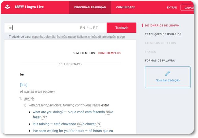 Lingvo Live - Imagem 1 do software