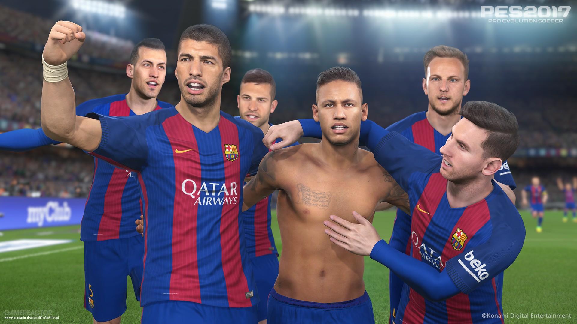 Parceria garante exclusividade do Camp Nou para Pro Evolution Soccer 2017