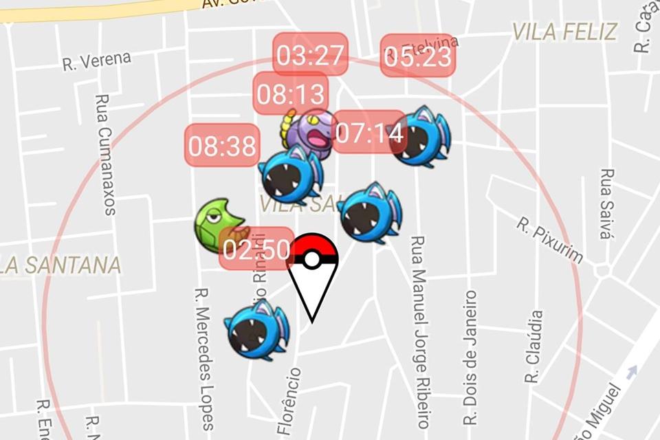 Pokémon GO: brasileiros usam app de radar pokémon para facilitar a jogatina
