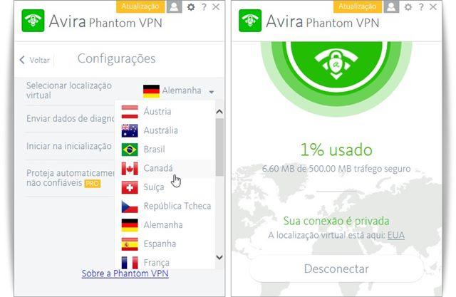Avira Phantom VPN Pro 2.4.3.30556 ja ativado full crack e serial.