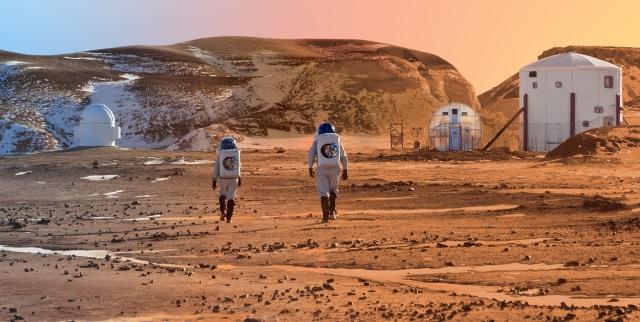 Só Marte recebe atenção...