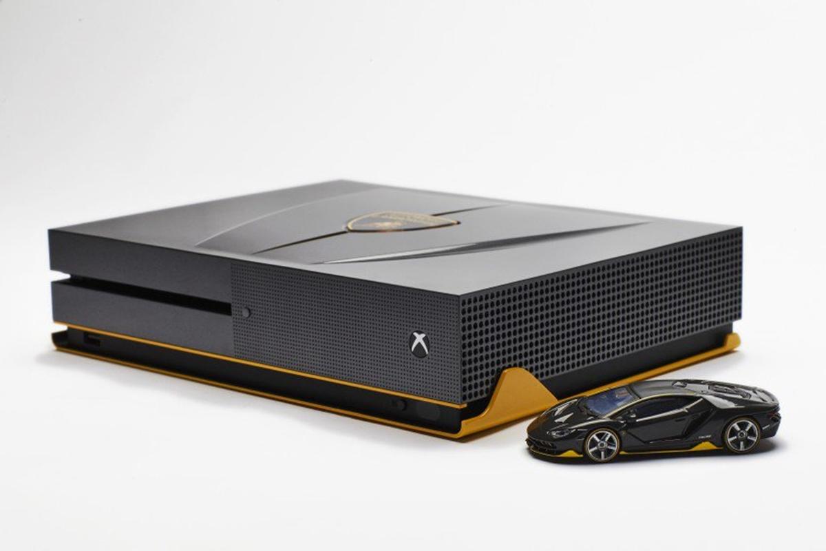Edição especial do Xbox One S Lamborghini Centenario é de babar; confira