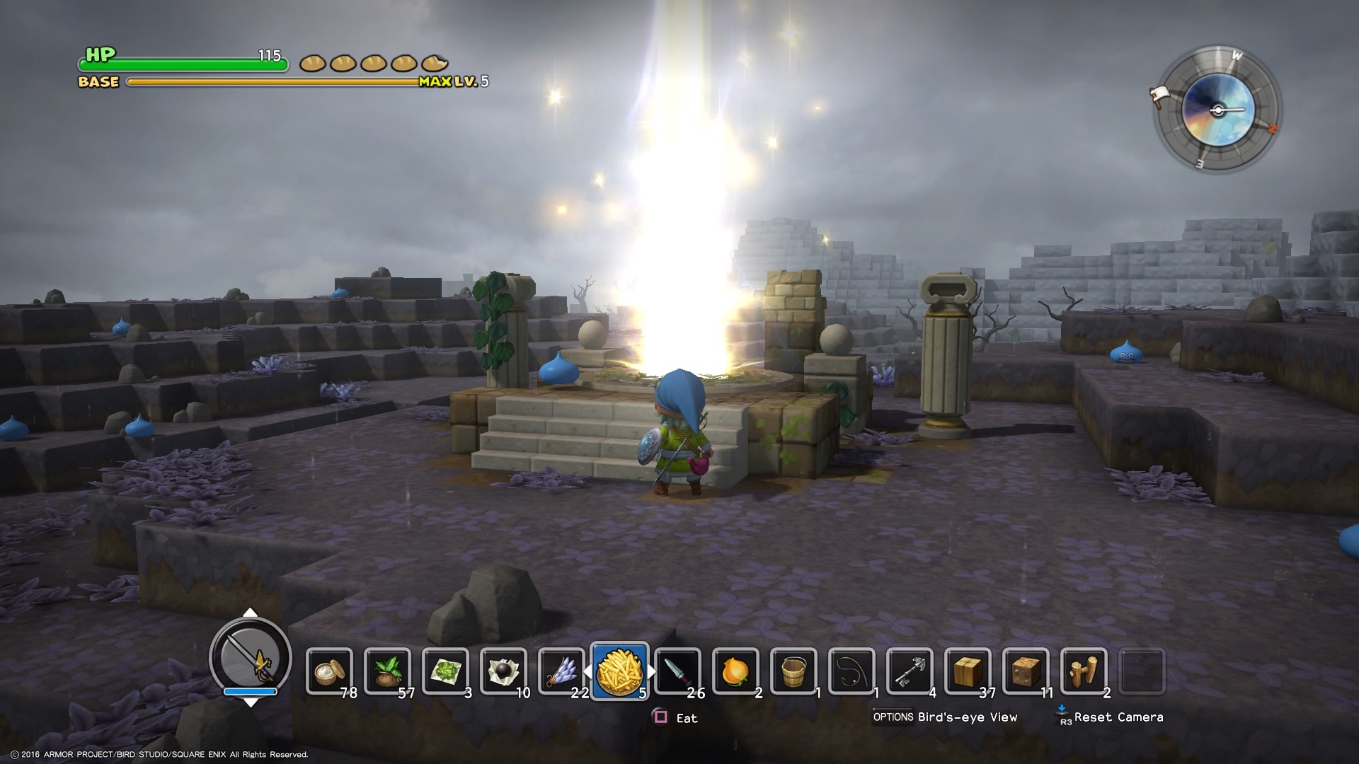 Análise Dragon Quest Builders