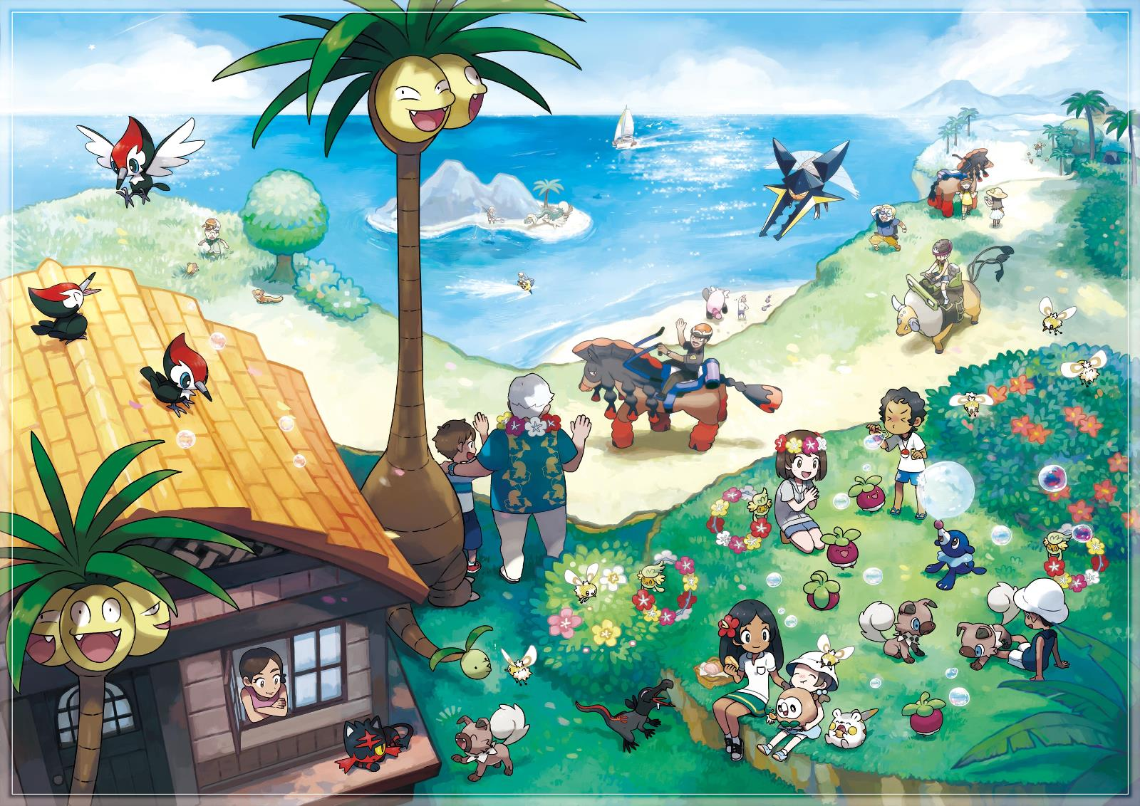 Análise do Pokémon Sun & Moon