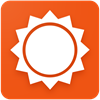 Logo AccuWeather para Android ícone