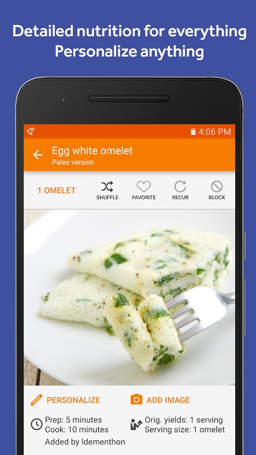 Eat This Much – Meal Planner - Imagem 2 do software