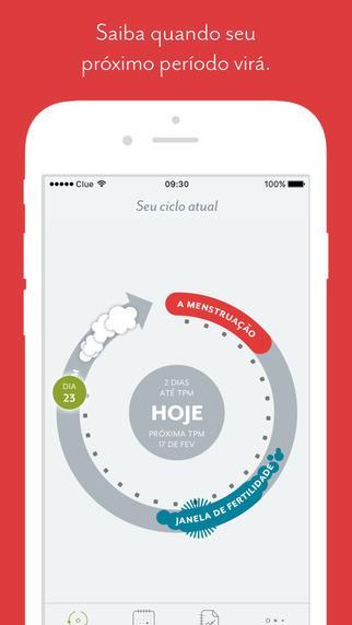 Clue – Calendário Menstrual - Imagem 1 do software