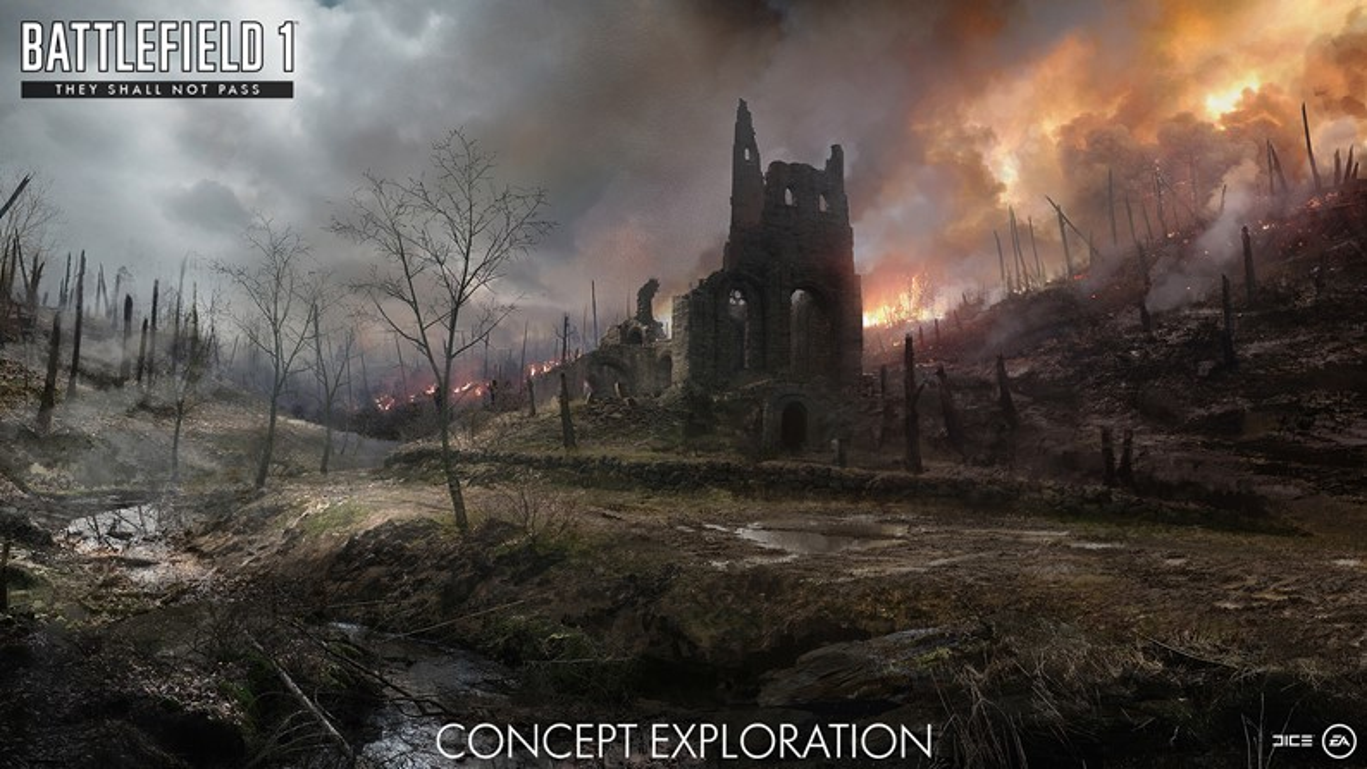 EA revela os primeiros detalhes do novo DLC de BF 1: They Shall Not Pass