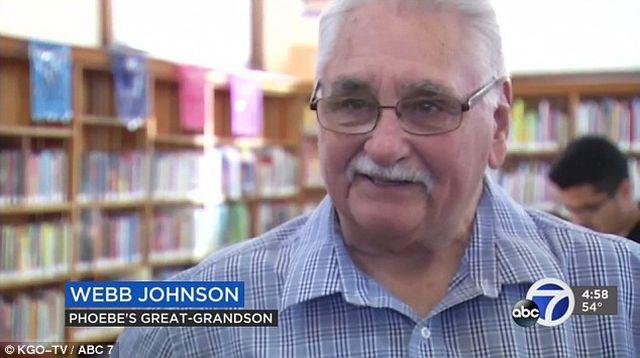 Webb Johnson encontrou o livro nos pertences da bisavó em 1996