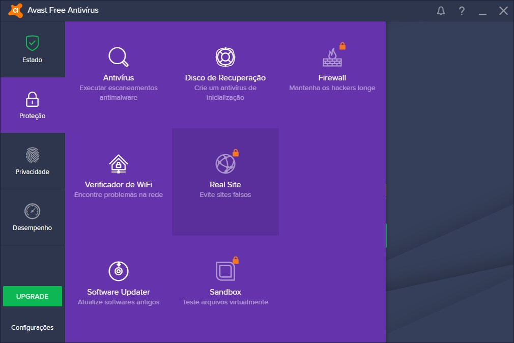 Avast Free Antivirus 2019 - Imagem 3 do software