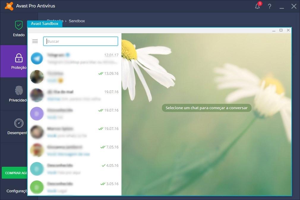 Avast Pro Antivirus 2019 - Imagem 1 do software