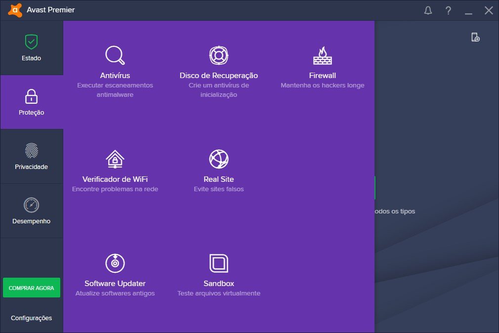 Avast Premier 2019 - Imagem 4 do software