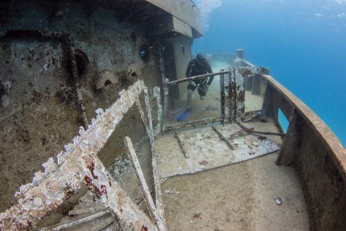15164828859296 Islas Caimán: naufragios y la ciudad sumergida empolgam los buzos
