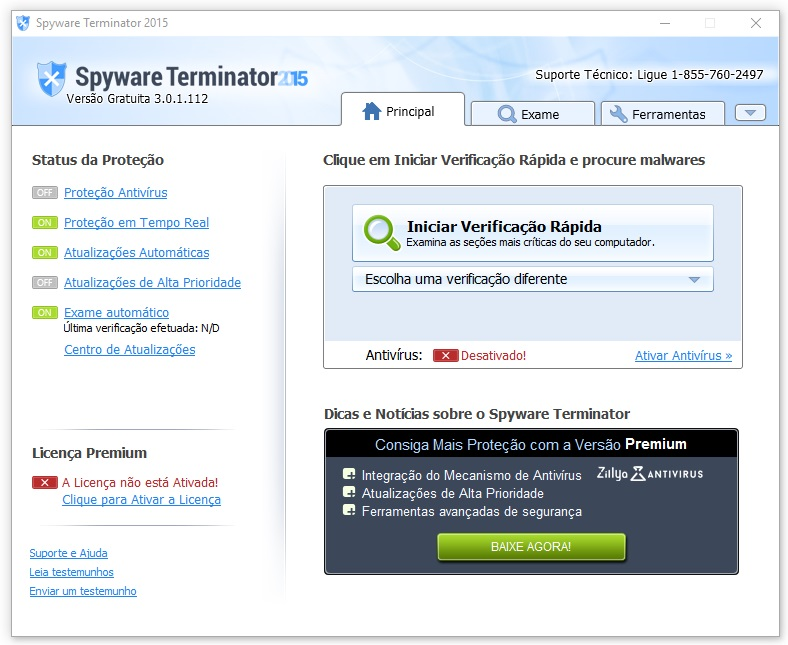 Spyware Terminator - Imagem 1 do software