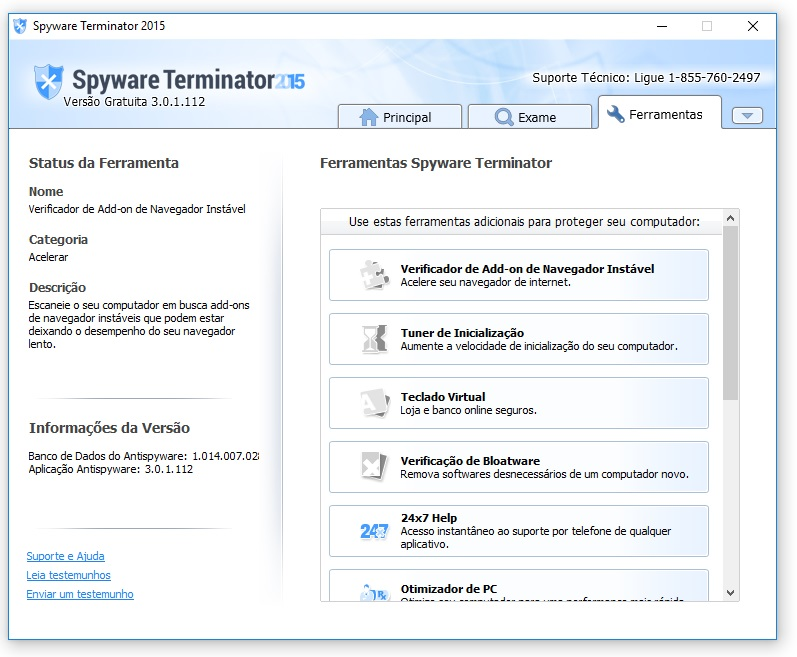 Spyware Terminator - Imagem 3 do software