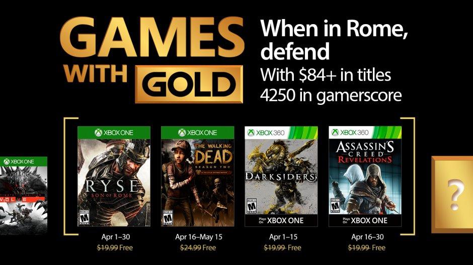 Seleção ANIMAL! Microsoft divulga jogos concedidos a membros Gold em abril