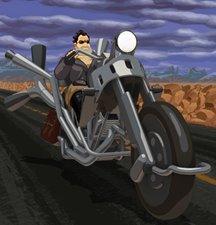 Imagem de Full Throttle Remastered no TecMundo Games