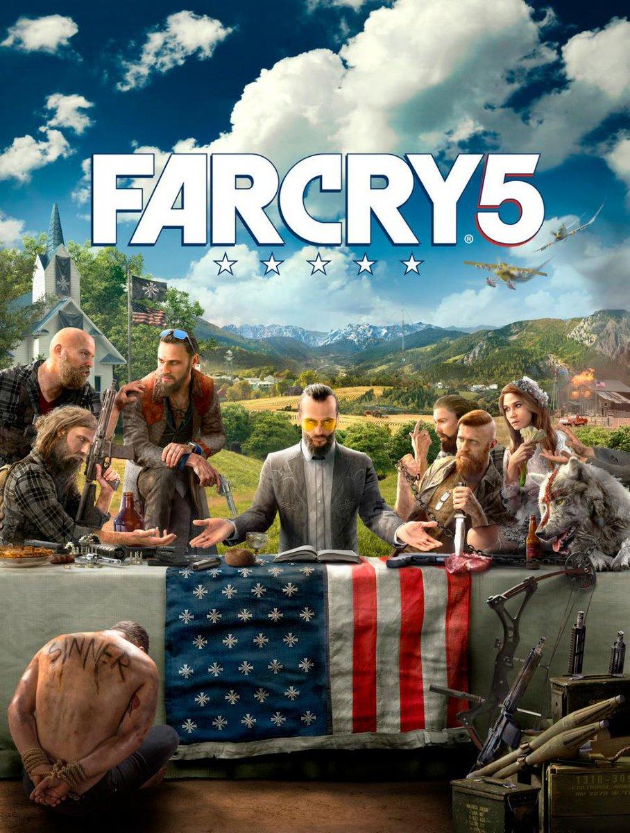 Primeira artwork de Far Cry 5 indica que game abordará fanatismo dos EUA
